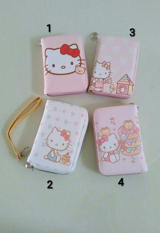 Wallet for girls and ladies with hello kitty designs