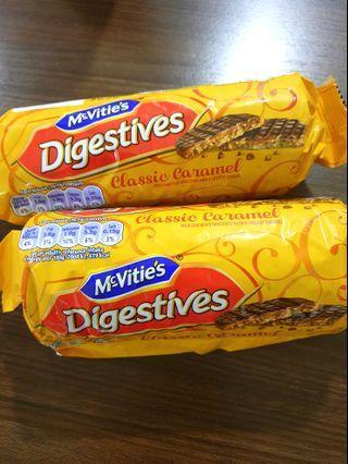 McVitie's Digestives Classic Caramel