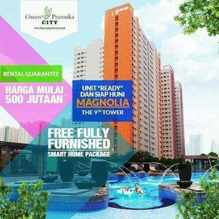 apartemen Green Pramuka City promo dp 5%