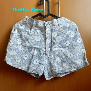 Short Pants floral by SASAKO