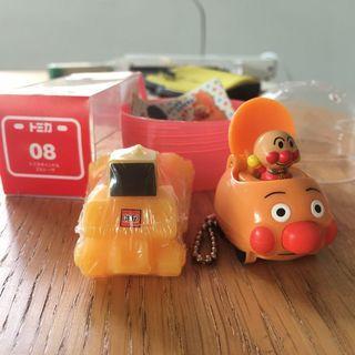 🚚 トミカ08+麵包超人車 車車玩具組合兩品合售