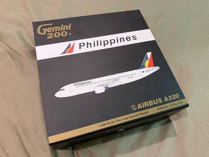🚚 Geminijets 1:200 Philippine Airlines A320 diecast model