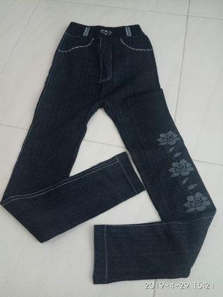 Legging motif jeans