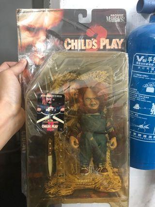 娃鬼回魂 Chucky figure