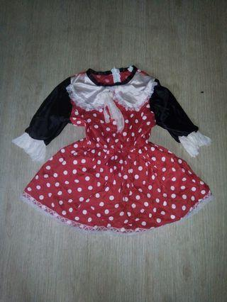 Minnie mouse 4-6 yrs old classic