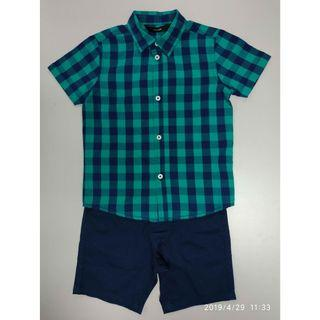 George 264455男童恤衫+短褲