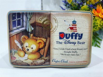 Tokyo Disney Sea Duffy The Disney Bear Collectible Vintage Multipurpose Tin Box