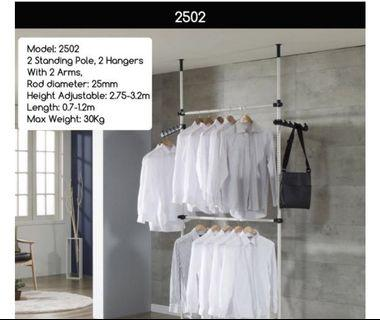 OFFER PRICE - Standing Pole Clothes Hanger Rack