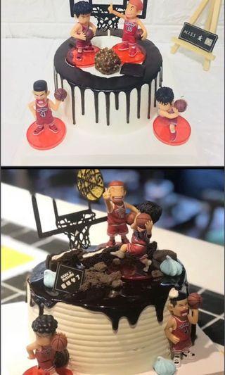 Slam dunk cake topper