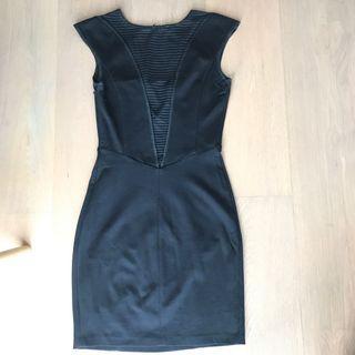 Guess black work dress