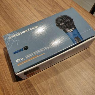 Audio Technica MB1k Handheld Cardioid Dynamic Vocal Microphone - Like new, used once