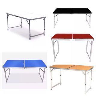 OFFER SALE - 120 x 60 Portable Foldable Aluminium Tables