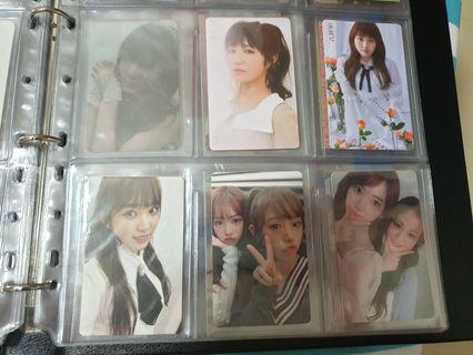 [Reduced to clear] IZ*One Official Photocards