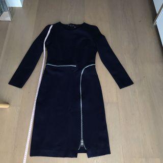 S.H.E Blue stretchable work Dress