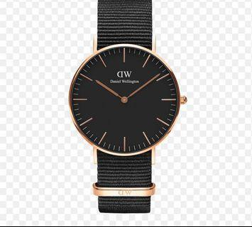 🚚 100% ✅ AUTHENTIC Daniel Wellington Watch Classic Black
