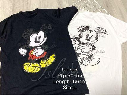 🚚 Mickey Mouse Size L instock