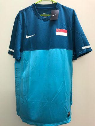 Singapore Football Player issue jersey