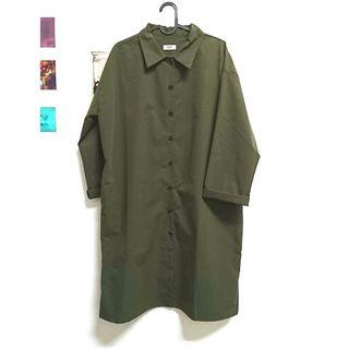 🚚 韓國墨綠夏季風衣