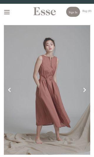 Esse the Label Organic Cotton Maxi Dress