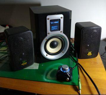 🚚 Multimedia amplifier/Free satellite speaker