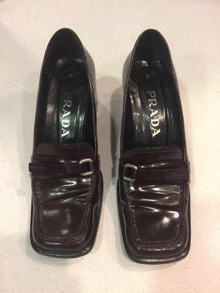 Clearance Sale! Prada Leather Shoes