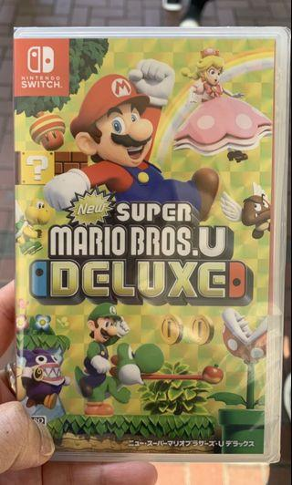 Switch Super Mario Bros U deluxe日版