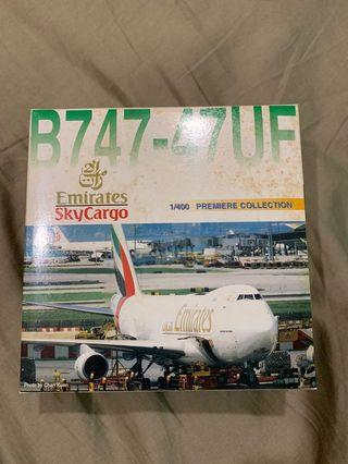 Dragon Wings 1:400 Emirates B747-400F diecast model