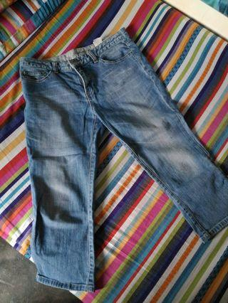 Ankle High Jeans (Waist 28)