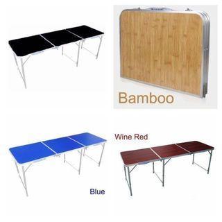 OFFER PRICE  - 180 x 60cm Portable Foldable Aluminium Table