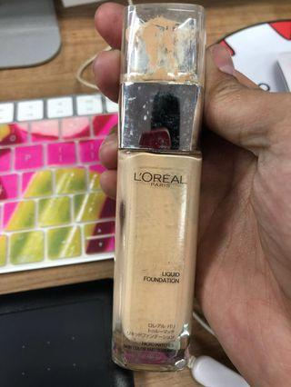 Loreal True Match liquid foundation - Gold Ivory
