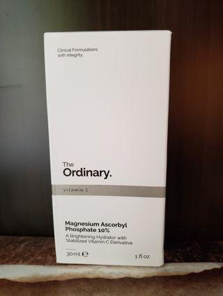 [維他命c] The Ordinary Magnesium Ascorbyl Phosphate 10% (抗壞血酸磷酸酯鎂) 美白去斑保濕面霜 30ml