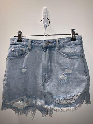 Glassons denim skirt