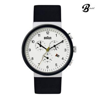 Braun Classic Chronograph Gents Watch BN0035WHSLBKG