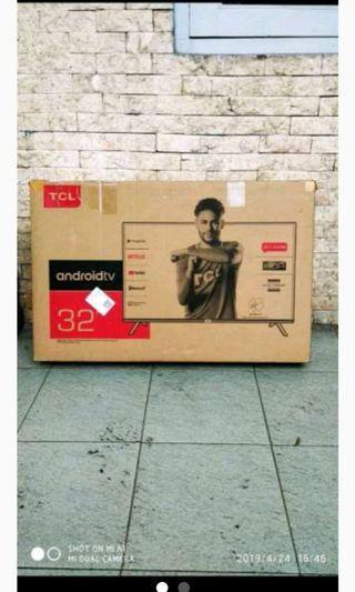 Tcl smart tv 32in 1080p (baru)