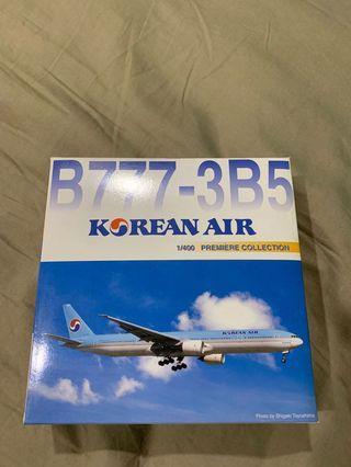🚚 Dragon Wings 1:400 Korean Air B777-300 diecast model