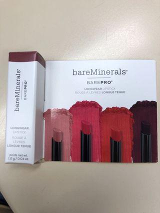 Bare Minerals - BarePRO 唇膏1.2g 試用裝(Petal)