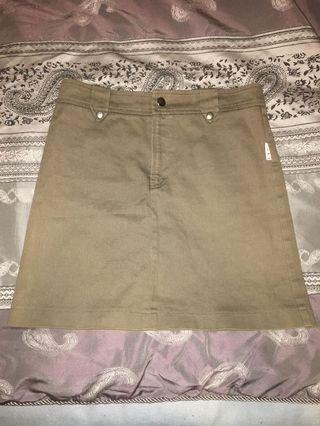 Camo coloured skirt