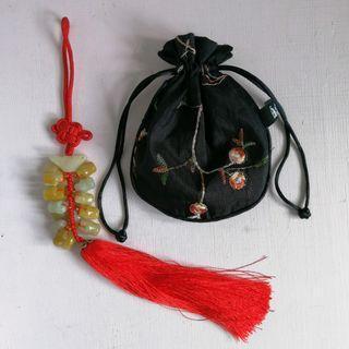 {代放} 全新 中國廈門 惠和石器 吊飾 附錦袋