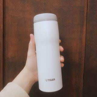 🚚 日本原裝 全新TIGER虎牌保溫杯(奶油白)480ml