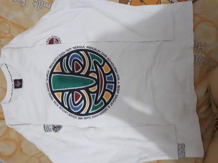 Kaos joger putih