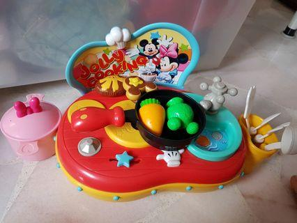 Disney Mickey & Minnie Mouse Kitchen Set