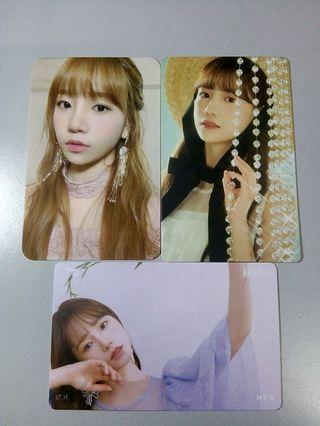 [WTS] IZ*ONE YURI PC