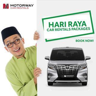 Hari Raya Car Rental Packages