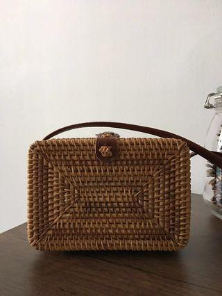Rattan Woven Bag
