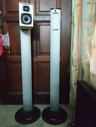 AV Light Aluminium speaker stands 40 inch