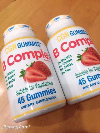 維生素 B軟糖 (B complex gummies)