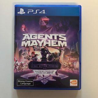 WTS- PS4 Agents Mayhem