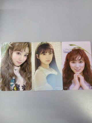 [WTS] IZ*ONE NAKO PC SET