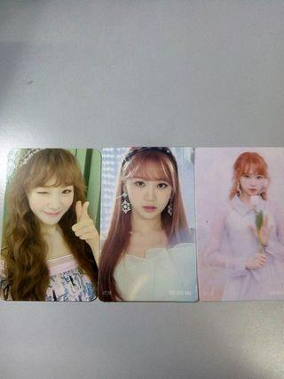 [WTS] IZ*ONE CHAEWON PC SET