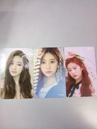 [WTS] IZ*ONE MINJU PC SET